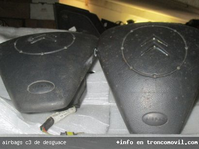 AIRBAGS C3 DE DESGUACE