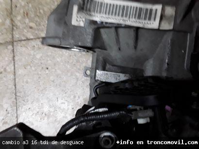CAMBIO A3 , 1.6 TDI DE DESGUACE - foto 2