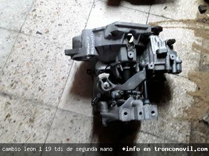 CAMBIO LEON 1 , 1.9 TDI DE SEGUNDA MANO - foto 2