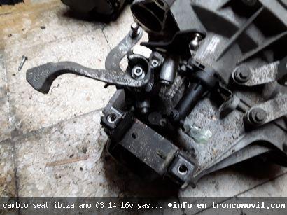 CAMBIO SEAT IBIZA , AÑO 03, 1.4 16V ,GASOLINA, REF GET DE SEGUNDA MANO - foto 3