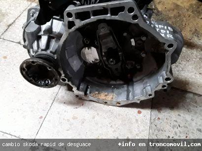 CAMBIO SKODA RAPID DE DESGUACE - foto 2