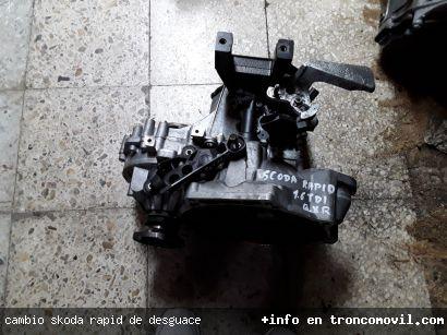 CAMBIO SKODA RAPID DE DESGUACE - foto 3