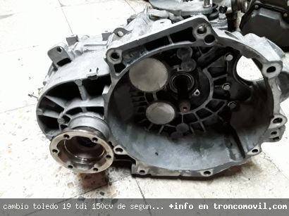 CAMBIO TOLEDO 1.9 TDI 150CV DE SEGUNDA MANO - foto 2