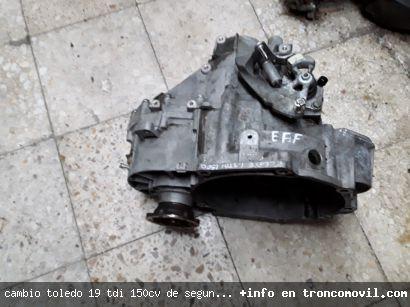CAMBIO TOLEDO 1.9 TDI 150CV DE SEGUNDA MANO - foto 3