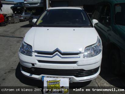 CITROëN C4 BLANCO 2007 PARA DESPIECE - foto 6