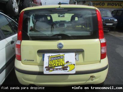 FIAT PANDA PARA DESPIECE - foto 3