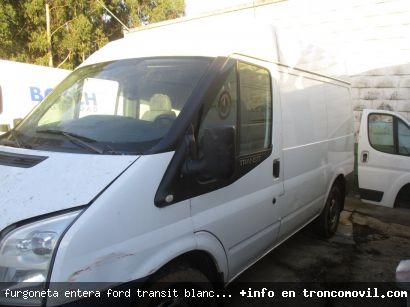 FURGONETA ENTERA FORD TRANSIT BLANCA PARA DESPIECE - foto 3