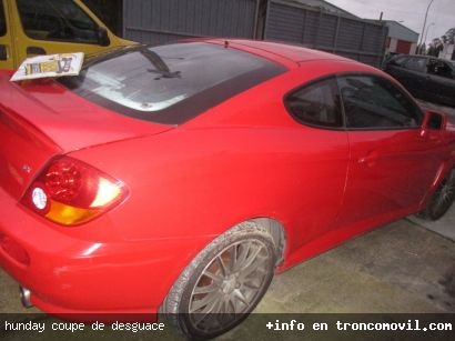 HUNDAY COUPE DE DESGUACE - foto 1