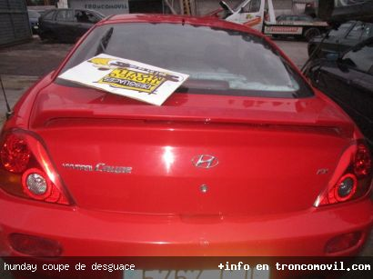 HUNDAY COUPE DE DESGUACE - foto 2