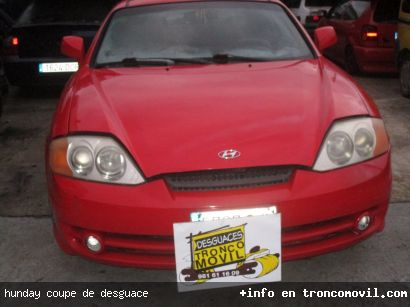 HUNDAY COUPE DE DESGUACE - foto 5