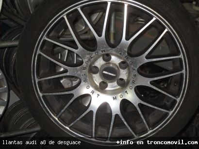 LLANTAS AUDI A8 DE DESGUACE