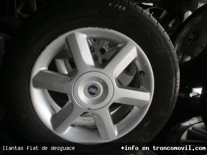 LLANTAS FIAT DE DESGUACE