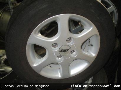 LLANTAS FORD KA DE DESGUACE - foto 1