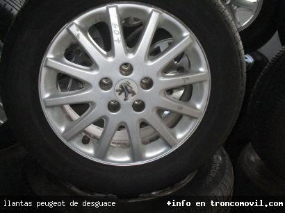 LLANTAS PEUGEOT DE DESGUACE - foto 1