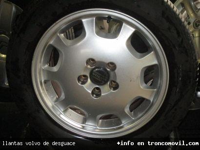 LLANTAS VOLVO DE DESGUACE - foto 1