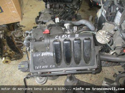 MOTOR DE MERCEDES BENZ CLASE B B180 DE SEGUNDA MANO