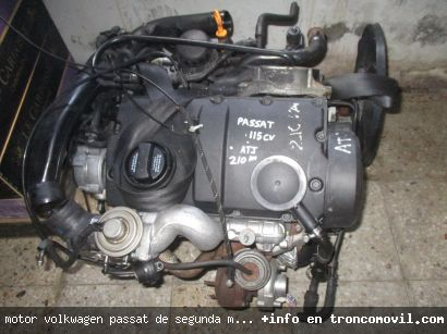 MOTOR VOLKWAGEN PASSAT DE SEGUNDA MANO