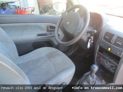 RENAULT CLIO 2003 AZUL DE DESGUACE - foto 2
