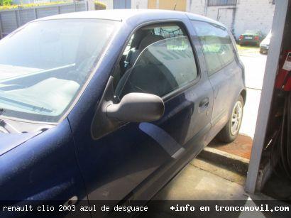 RENAULT CLIO 2003 AZUL DE DESGUACE - foto 3