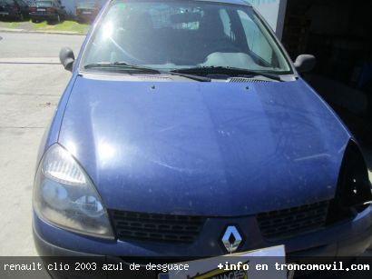 RENAULT CLIO 2003 AZUL DE DESGUACE - foto 5