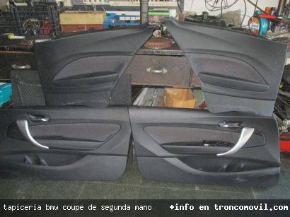 TAPICERIA BMW COUPE DE SEGUNDA MANO - foto 2