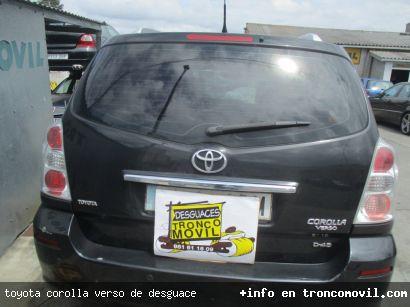 TOYOTA COROLLA VERSO DE DESGUACE - foto 3