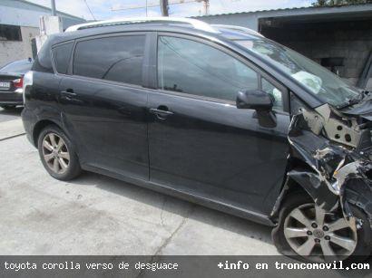 TOYOTA COROLLA VERSO DE DESGUACE - foto 4