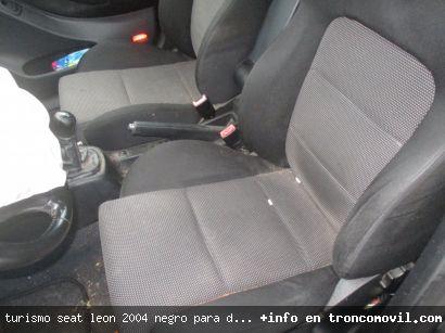 TURISMO SEAT LEóN 2004 NEGRO PARA DESPIECE - foto 1