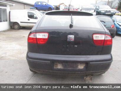 TURISMO SEAT LEóN 2004 NEGRO PARA DESPIECE - foto 3