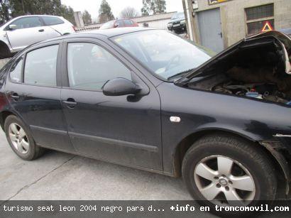 TURISMO SEAT LEóN 2004 NEGRO PARA DESPIECE - foto 4