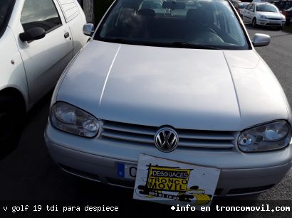 V. GOLF 1.9 TDI, PARA DESPIECE