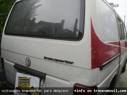 VOLKSWAGEN TRANSPORTER PARA DESPIECE - foto 2
